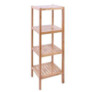 Salle de bain etagere bambou achat vente salle de bain for Etagere salle de bain bambou