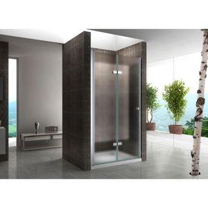 porte de douche 75 cm achat vente porte de douche 75. Black Bedroom Furniture Sets. Home Design Ideas