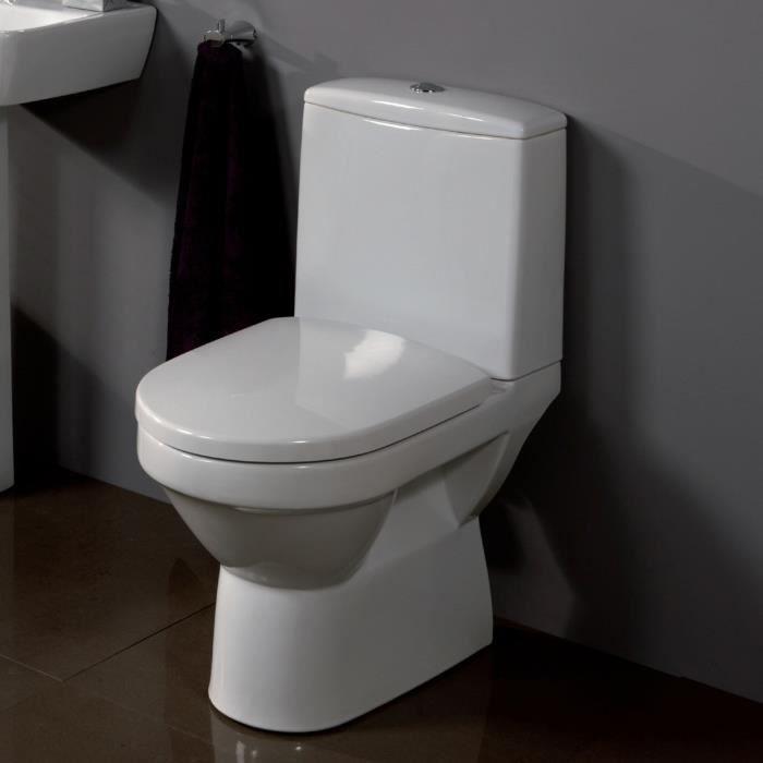 Pack WC à poser Venise caréné sortie horizontale - Achat / Vente wc ...