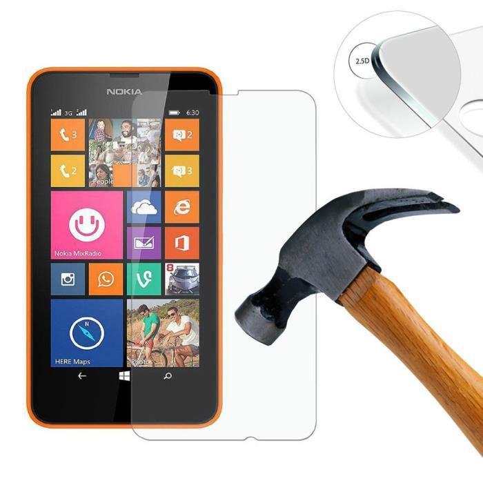 protecteur d 39 cran ultrathin 9h 2 5d effacer en verre tremp pour nokia lumia 520 film de. Black Bedroom Furniture Sets. Home Design Ideas