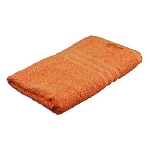 g zze 7881 38 6 serviette de bain orange achat vente serviettes de bain cdiscount. Black Bedroom Furniture Sets. Home Design Ideas