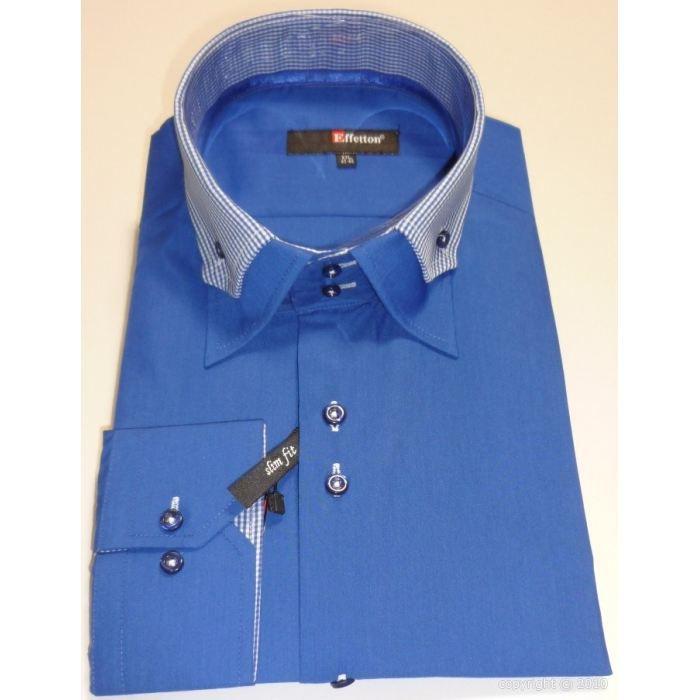 chemise slim fit chemise ceintre bleu col car bleu col carreaux bleu blanc achat vente. Black Bedroom Furniture Sets. Home Design Ideas