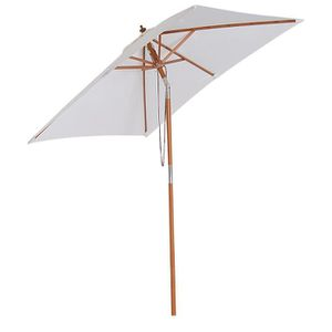 PARASOL Outsunny Parasol Rectangulaire Inclinable Toile Im