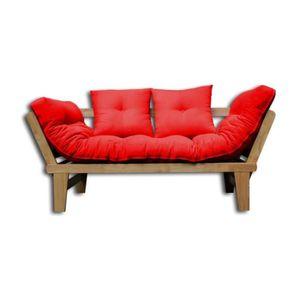 Housse pour futon achat vente housse pour futon pas for Housse pour futon
