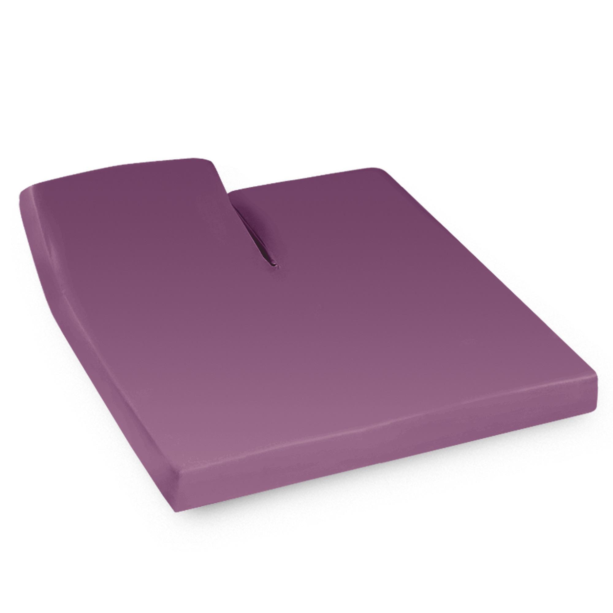 drap housse 2x80x200 violet t te relevable seul achat. Black Bedroom Furniture Sets. Home Design Ideas