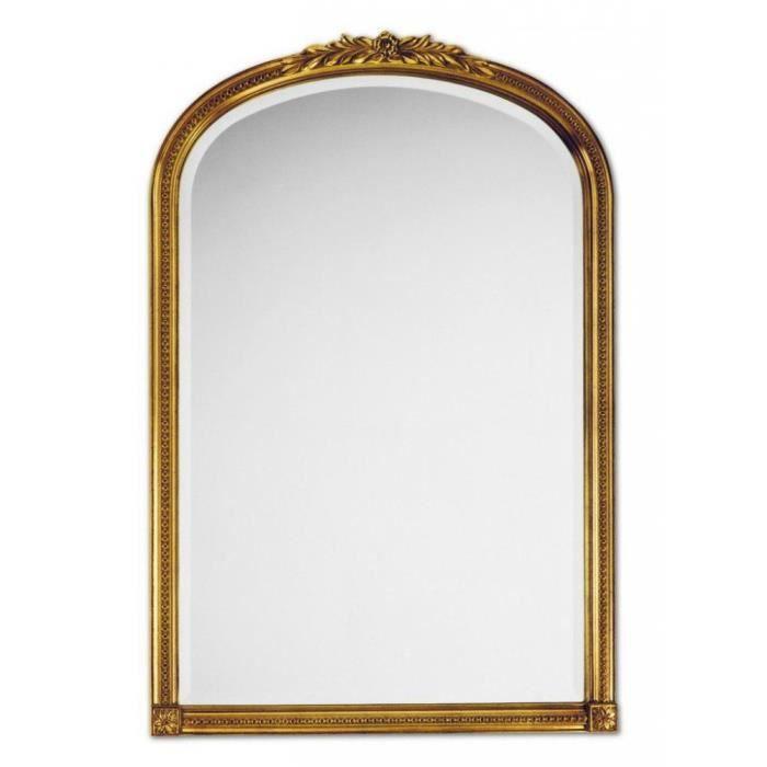 Arche miroir mural design or achat vente miroir for Achat miroir mural