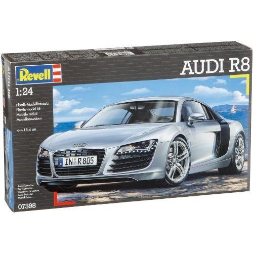 Revell 7398 maquette de voiture audi r8 achat for Construire sa voiture