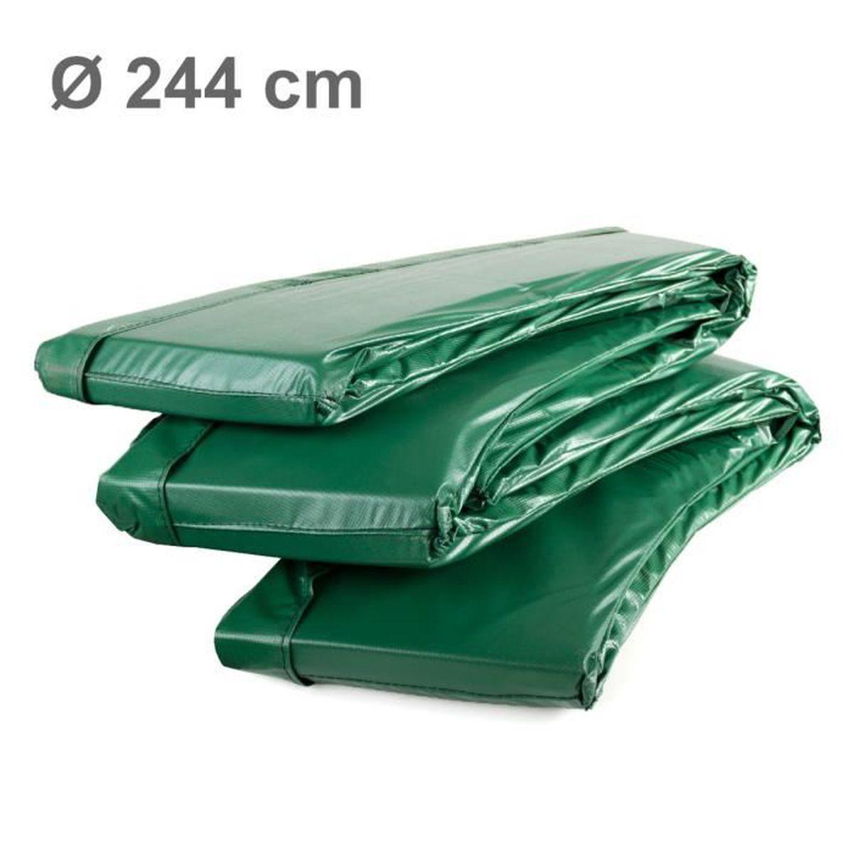 Ampel 24 coussin de protection ressorts deluxe pour trampoline au diam tre d - Coussin de protection trampoline 244 cm ...