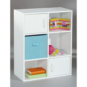 Meuble de rangement achat vente meuble de rangement for Meuble 6 cases blanc