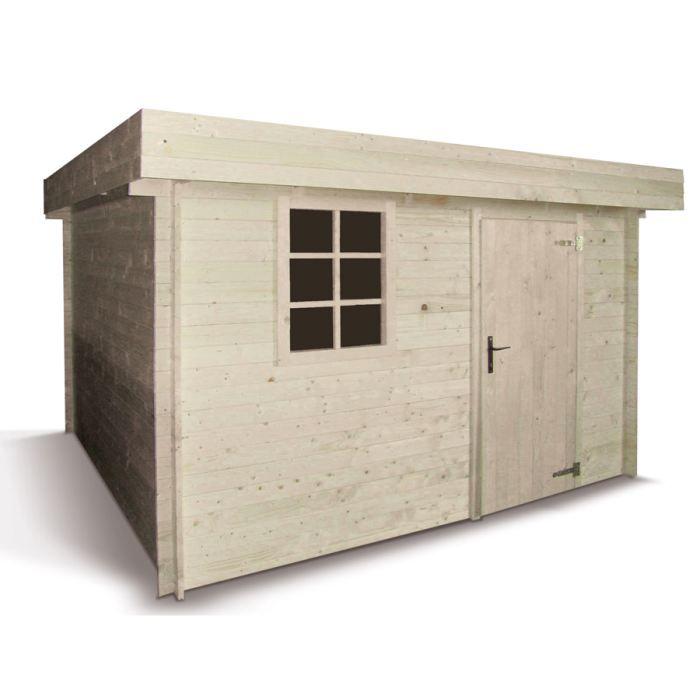 abri de jardin en bois aramis achat vente abri jardin chalet abri de jardin en bois. Black Bedroom Furniture Sets. Home Design Ideas