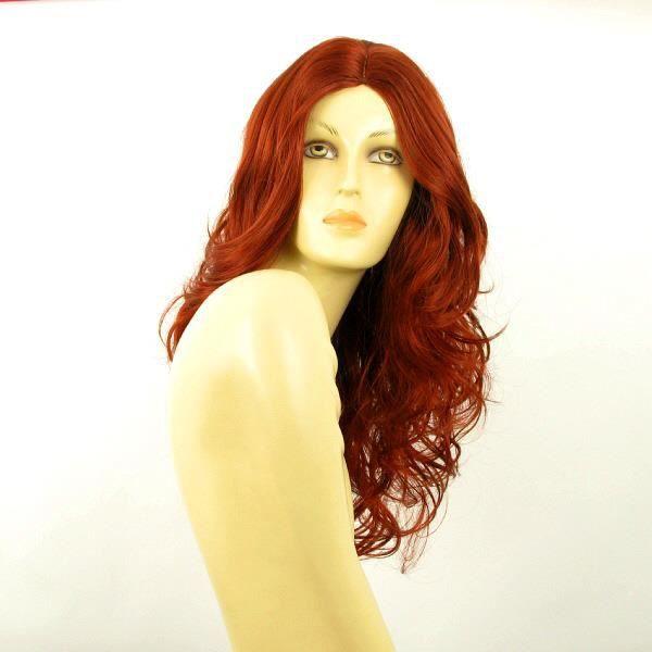 perruque femme longue rousse charlette 350 achat vente perruque postiche perruque femme. Black Bedroom Furniture Sets. Home Design Ideas