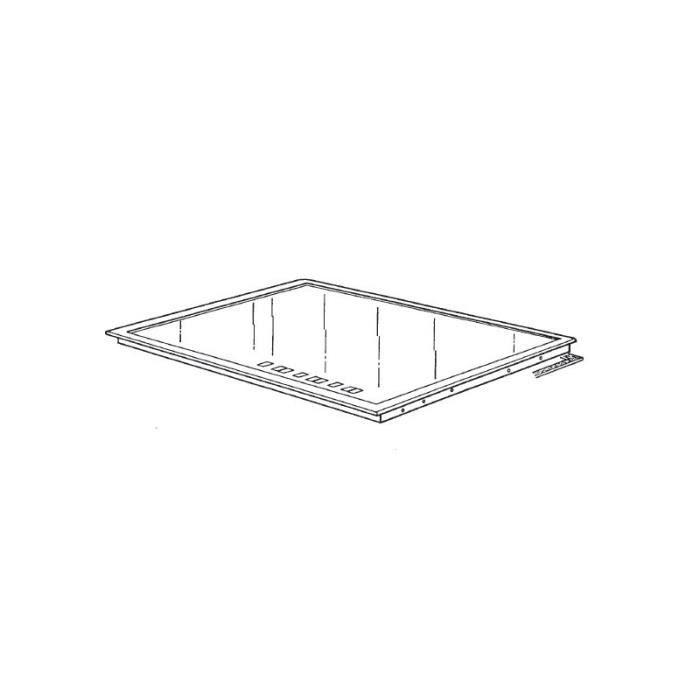 76x2642 dessus de table vitro verre achat vente pi ce - Dessus de table en verre ...