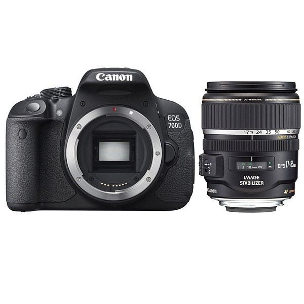 CANON EOS 700D + Objectif EF S 17 85mm f/4 5,6 IS USM Canon EOS 700D