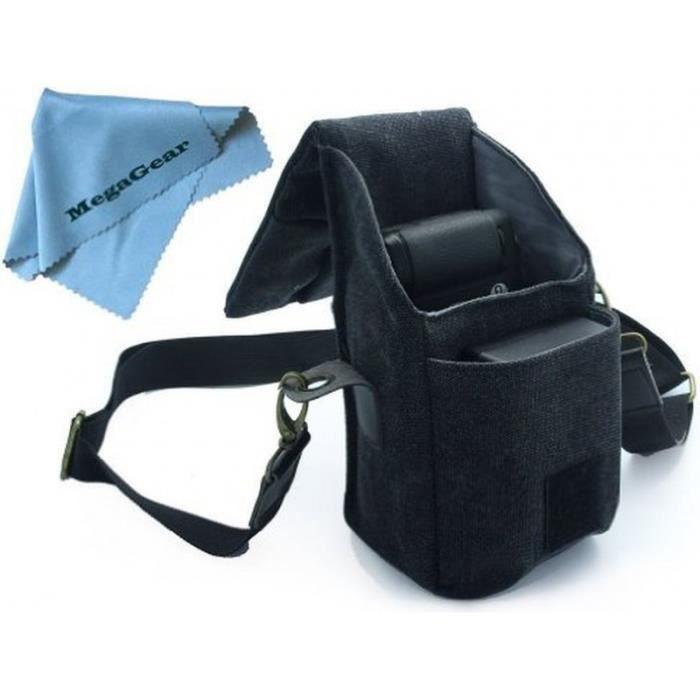 sacoche noire pour appareils photo canon g16 g achat. Black Bedroom Furniture Sets. Home Design Ideas