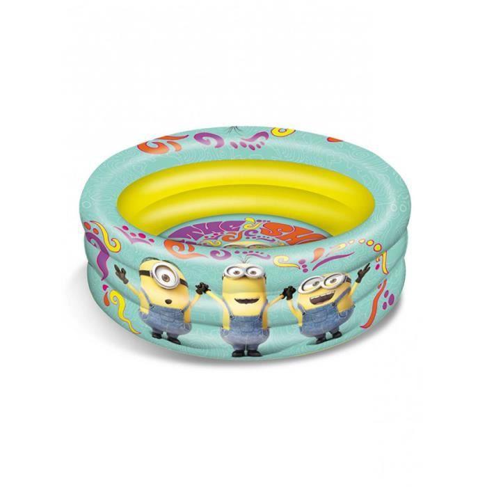 Les minions piscine gonflable enfant 100 cm achat for Achat piscine gonflable
