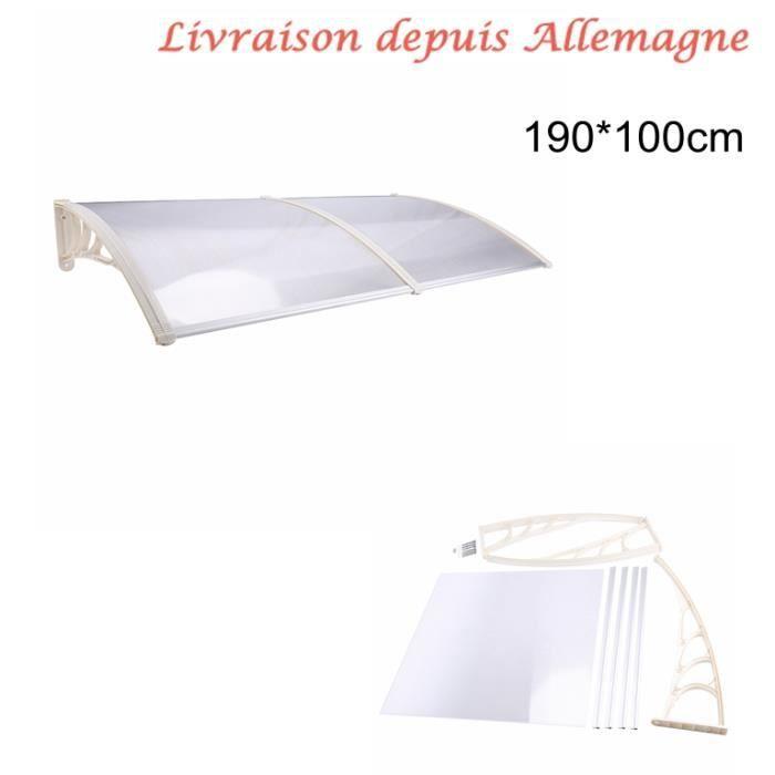 Fen tre de porte auvent ext rieur canopy patio cover 3 for Fenetre 80x120