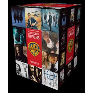 DVD FILM DVD Coffret 10 Thrillers - 90 ans Warner
