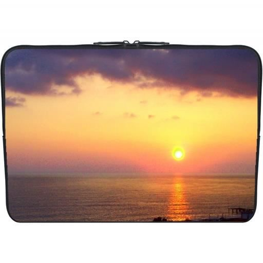 housse neoprene pc ordinateur portable 13 3 pouces coucher de soleil 2 prix pas cher. Black Bedroom Furniture Sets. Home Design Ideas