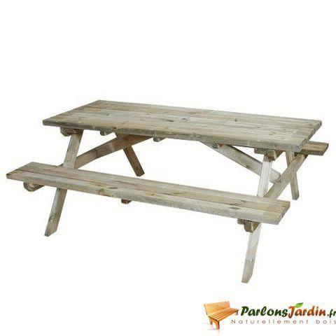 table de pique nique en bois first achat vente table de pique nique table de pique nique en. Black Bedroom Furniture Sets. Home Design Ideas