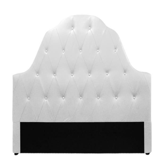 Table rabattable cuisine paris tete de lit blanc 160 - Tete de lit blanc 160 ...