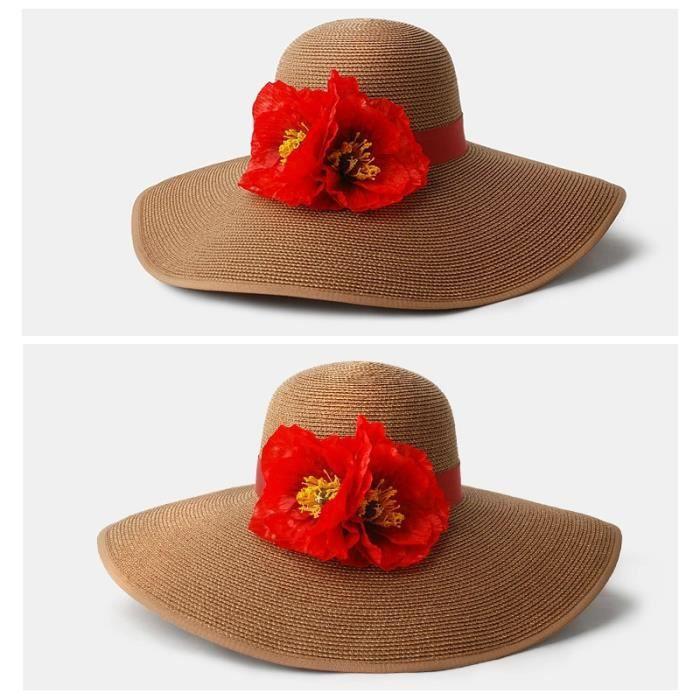 chapeau de plage de visi re femme noir cafe achat vente chapeau bob cdiscount. Black Bedroom Furniture Sets. Home Design Ideas