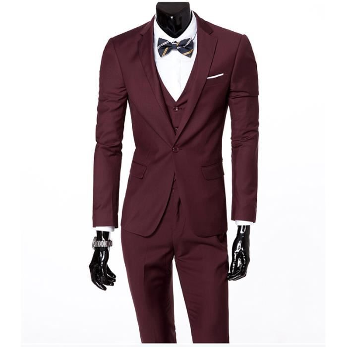 costume tailleur costume homme costume 3 pieces mariage - Costume Homme 3 Pieces Mariage