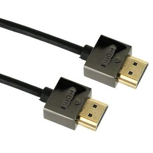 APM 590448 Câble HDMI Mâle / Mâle Slim - 1.80m - Noir