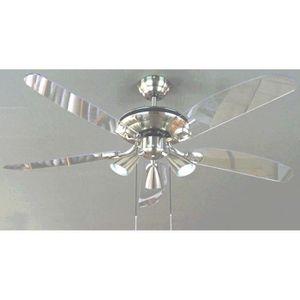 ventilateur de plafond avec lumiere achat vente ventilateur de plafond avec lumiere pas cher. Black Bedroom Furniture Sets. Home Design Ideas