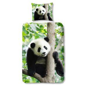 Housse De Couette Panda : housse de couette panda achat vente housse de couette panda pas cher cdiscount ~ Teatrodelosmanantiales.com Idées de Décoration