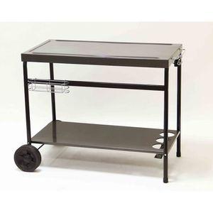 chariot pour plancha achat vente chariot pour plancha pas cher les soldes sur cdiscount. Black Bedroom Furniture Sets. Home Design Ideas