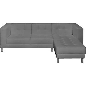 Canap d 39 angle droit switsofa manfield gris achat for Canape ultra confortable