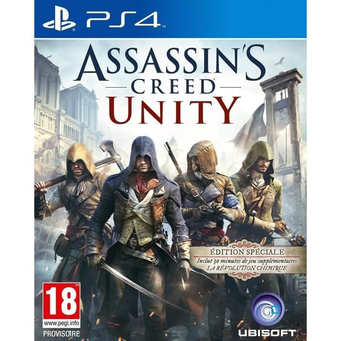 jeux pc video console assassin s creed unity ps f
