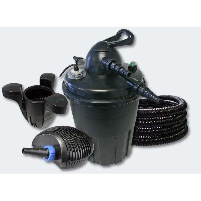 Kit filtre pression complet cumeur pour bassins de for Pompe de bassin filtrante