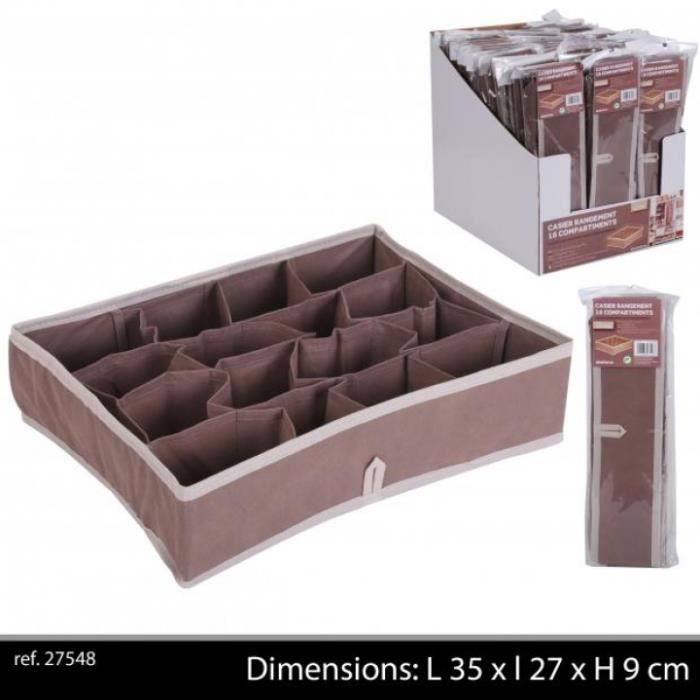 casier de rangement 16 compartiments achat vente boite. Black Bedroom Furniture Sets. Home Design Ideas