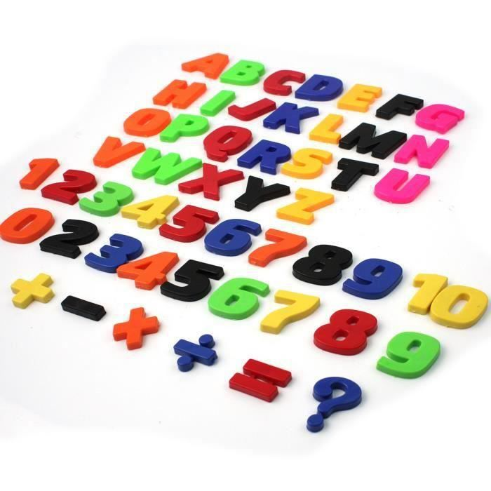 Magnetic Board Letters Numbers