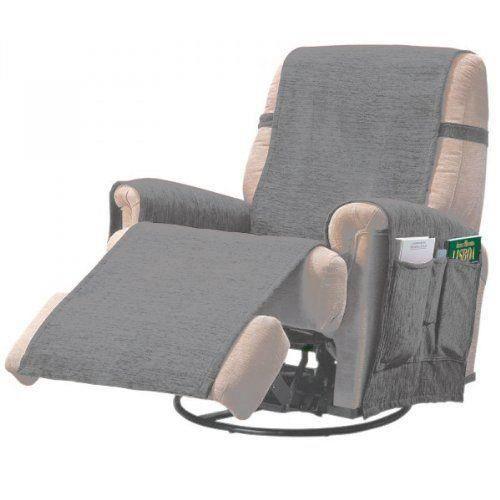 comptoir du linge paula1plgris prot ge fauteuil achat vente housse de chaise cdiscount. Black Bedroom Furniture Sets. Home Design Ideas