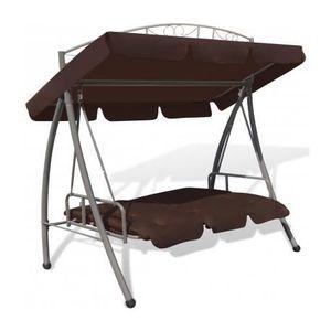 balancelle lit de jardin achat vente balancelle lit de jardin pas cher cdiscount. Black Bedroom Furniture Sets. Home Design Ideas