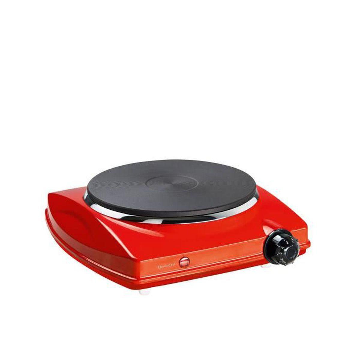 plaque cuisson lectrique 1500w rouge mini kitchen. Black Bedroom Furniture Sets. Home Design Ideas