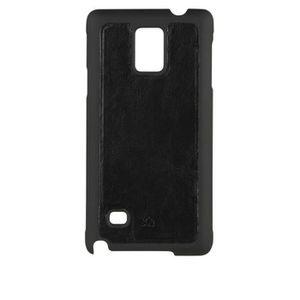 Coque XQISIT iPlate Eman Galaxy Note 4 Noir