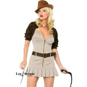 DEGUISEMENT SEXY  Costume aventurière Miss Indy (t…