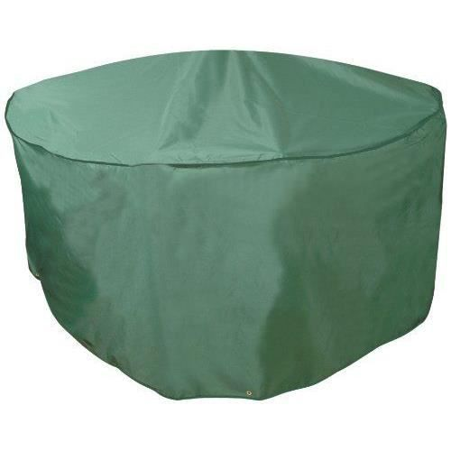 housse de protection pour salon de jardin circulaire 8 places achat vente housse meuble. Black Bedroom Furniture Sets. Home Design Ideas