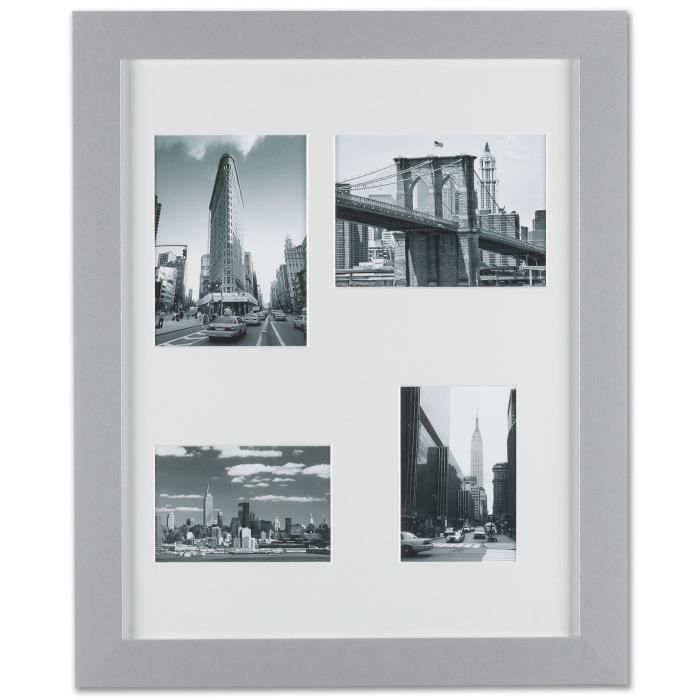 cadre photo hajime gris 57x47 achat vente cadre photo cadeaux de no l cdiscount. Black Bedroom Furniture Sets. Home Design Ideas