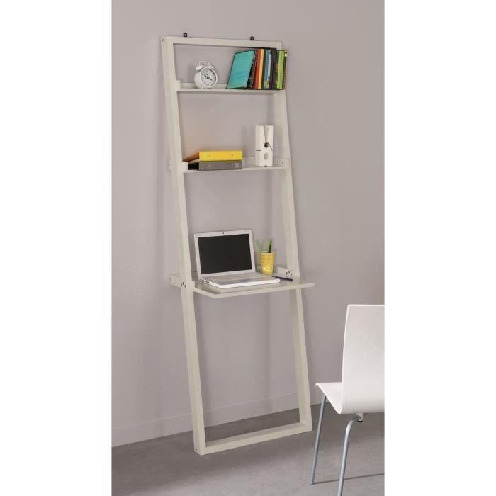 concept biblioth que bureau 163 cm taupe achat vente bureau concept biblioth que bureau mdf. Black Bedroom Furniture Sets. Home Design Ideas