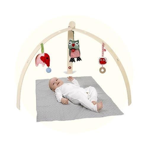 franck fischer portique d 39 veil pour b b en bois naturel achat vente portique b b. Black Bedroom Furniture Sets. Home Design Ideas