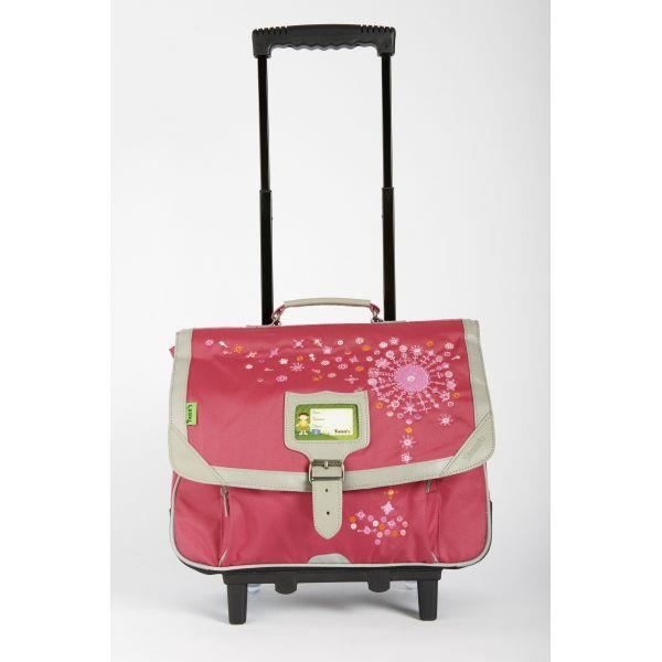 cartable trolley 38cm tann 39 s rose collector 201 achat vente cartable cartable trolley 38cm. Black Bedroom Furniture Sets. Home Design Ideas