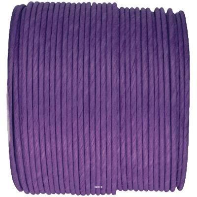 Cordon papier laitonne violet d 2 mm bobine de achat for Lai papier peint deco