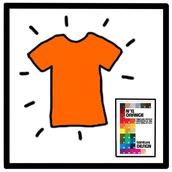 teinture textile orange achat vente teinture textile. Black Bedroom Furniture Sets. Home Design Ideas