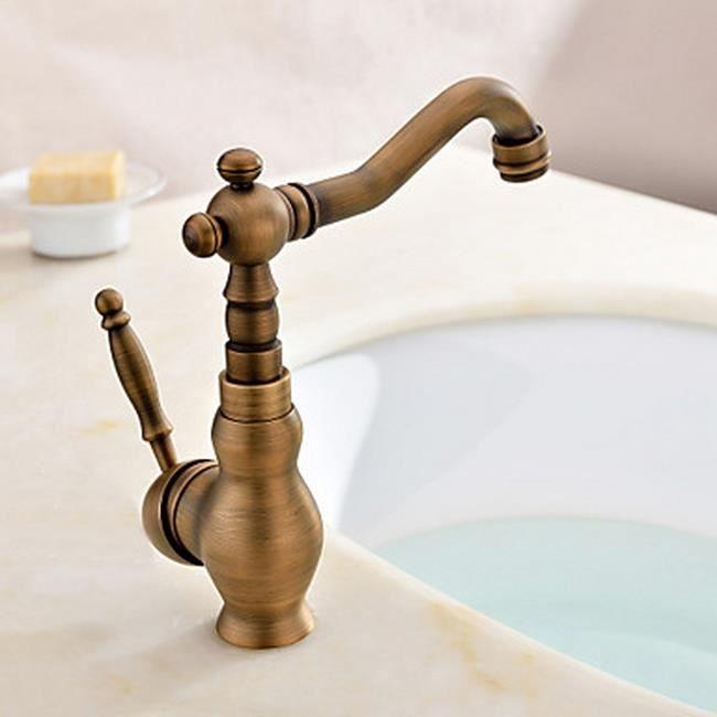 lookshop robinet de cuisine en cuivre antique achat vente robinetterie de cuisine robinet. Black Bedroom Furniture Sets. Home Design Ideas