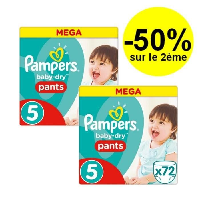 pampers baby dry pants taille 5 12 18kg 144 couches. Black Bedroom Furniture Sets. Home Design Ideas