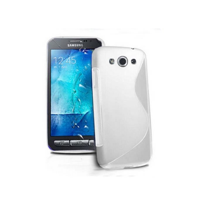 Coque housse samsung xcover 3 g388f etui tpu sline en for Housse xcover 4
